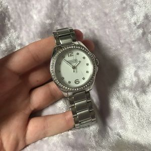 Coach Watch with mother of pearl face